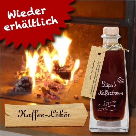 """Kaffeelikör """"Küpers Kaffeetraum"""""""